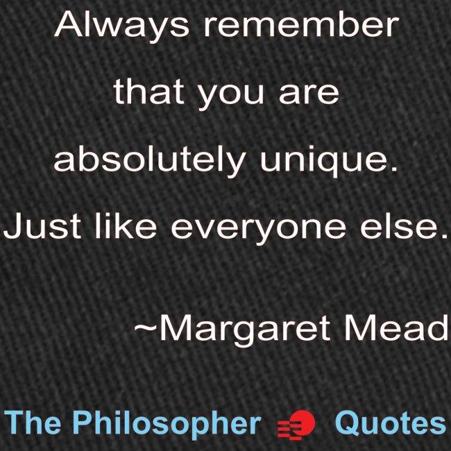 Margaret Mead Unique-w