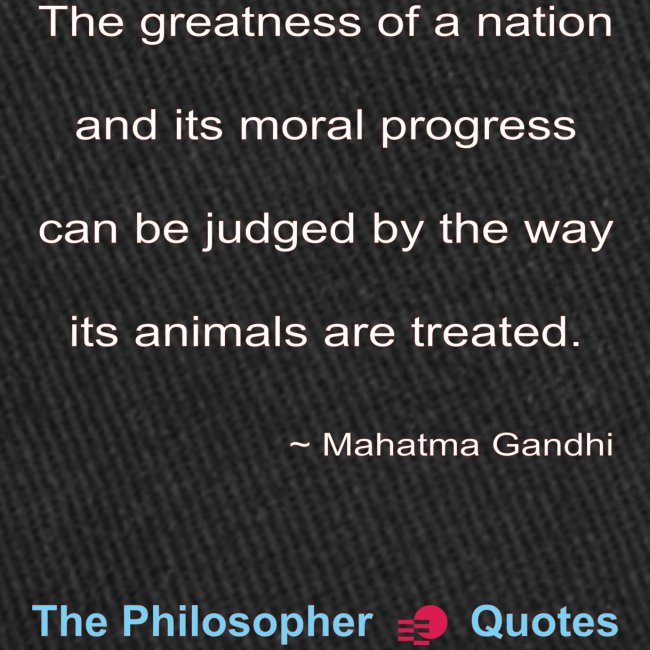 Gandhi Animals w
