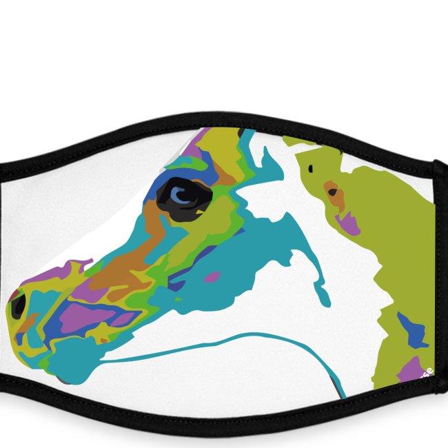 Spotted.Horse Appaloosa Colt Pop Art