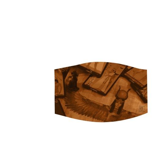 Iside e Bastet - Mascherina regolabile piccola