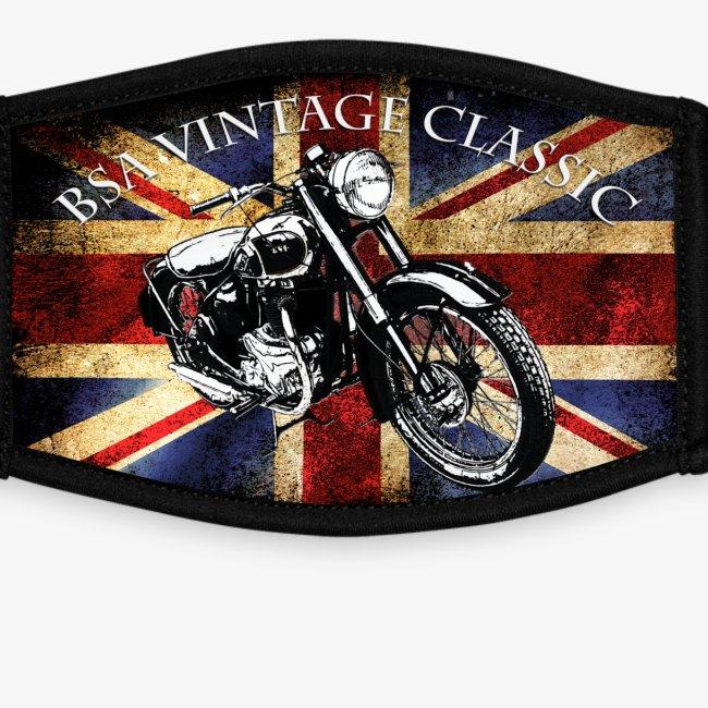 Vintage Motor cycle BSA design by patjila