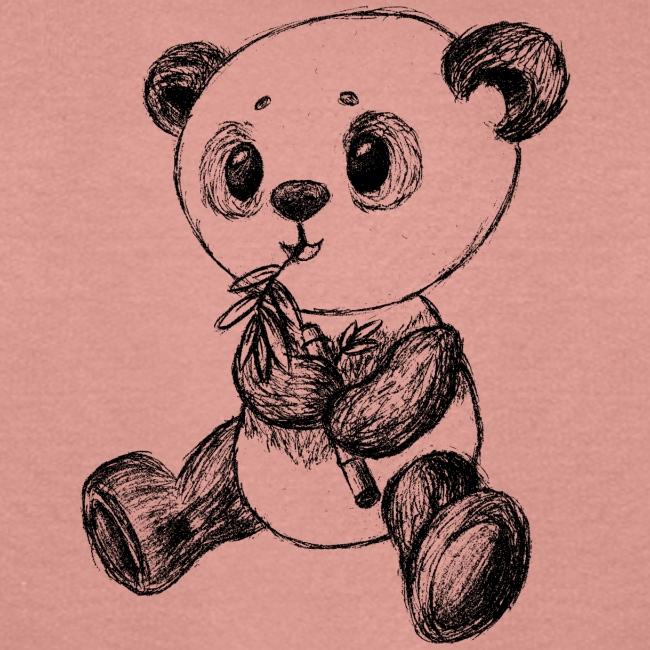 Panda Karhu musta scribblesirii
