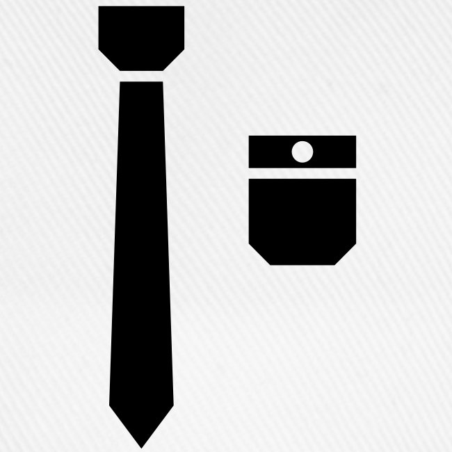 Tie and pocket ( smoking, tuxedo )