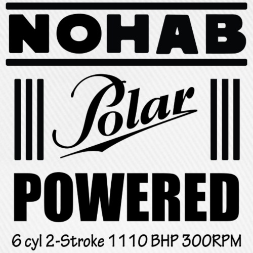 Nohab Polar Powered - Baseballcap