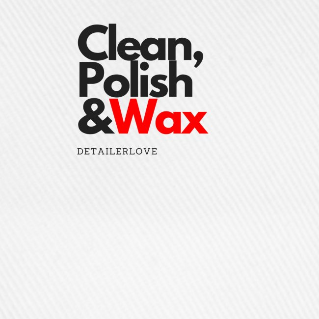 Clean,polish en wax
