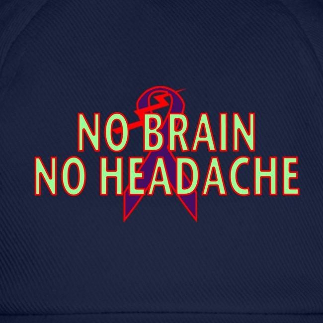no brain no headache png