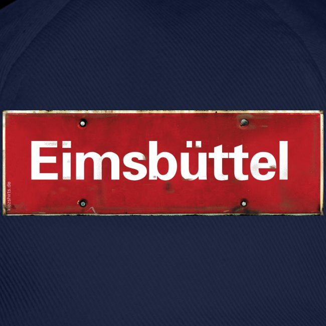 Hamburg Eimsbuettel Ortsschild