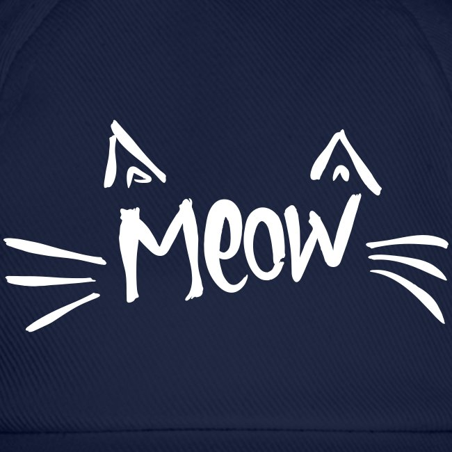 Vorschau: meow2 - Baseballkappe