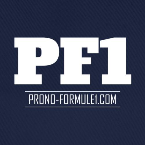 Casquette unisexe prono-formule1