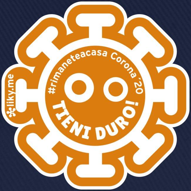 Corona Virus #rimaneteacasa arancione