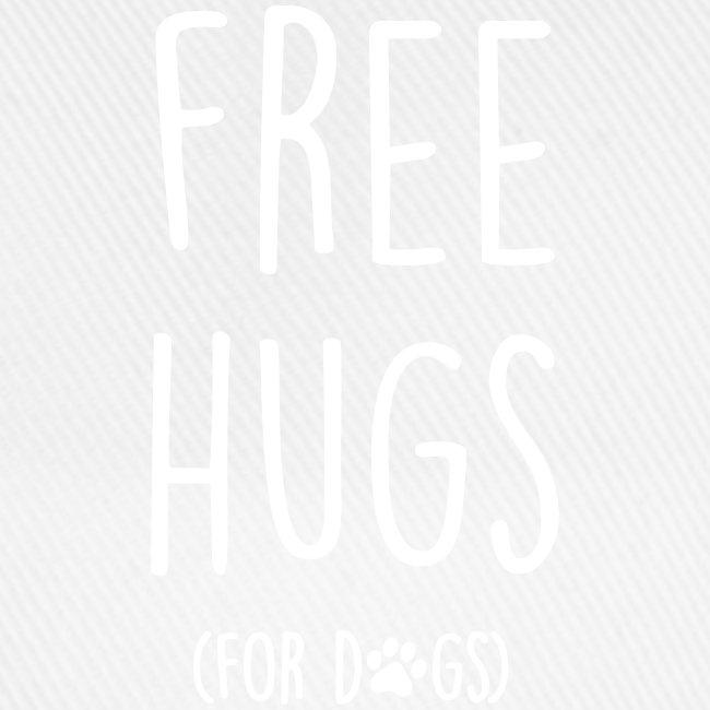 Vorschau: free hugs for dogs - Baseballkappe