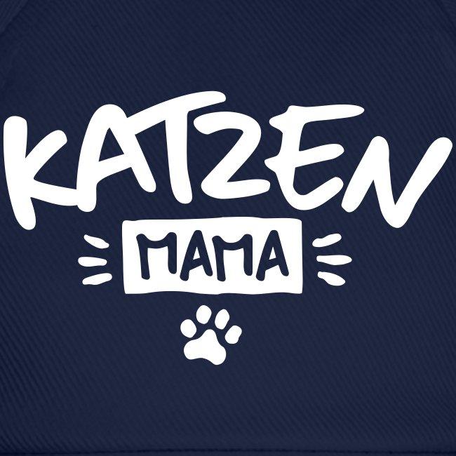 Vorschau: Katzen Mama - Baseballkappe