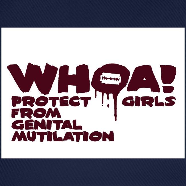 WHOA! Protect girls from genital mutilation!