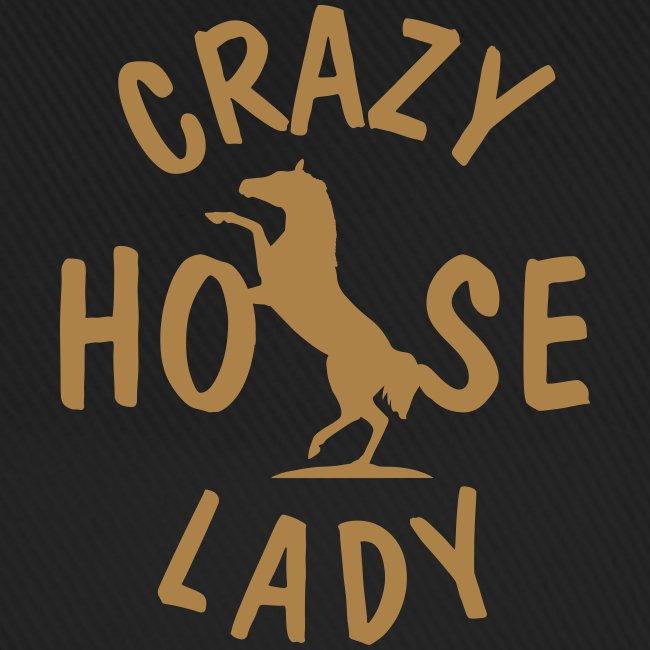 Vorschau: crazy horse lady - Baseballkappe