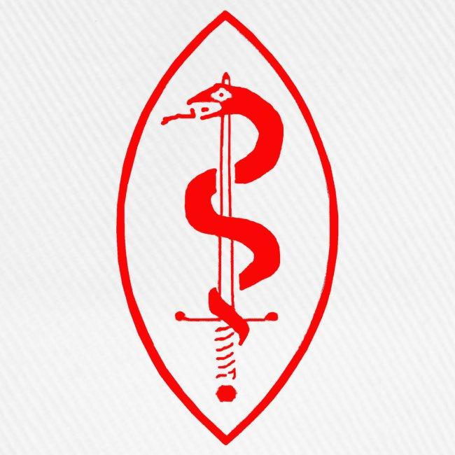 School of Mars Crest (Red)