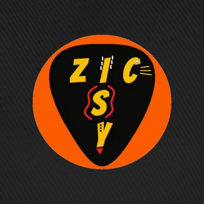 Zic izy rond orange