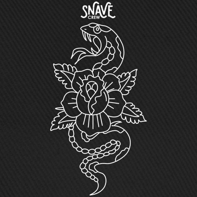 serpent blanc old school