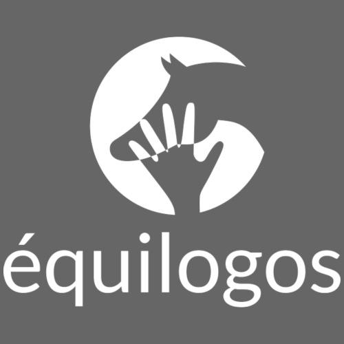Equilogos logo blanc