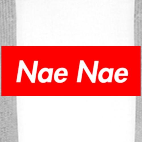 Nae Nae Transparent Logo - Männer Premium Hoodie