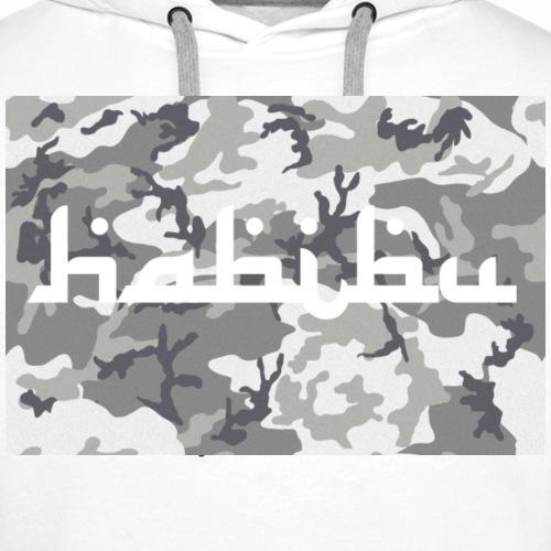 Habibu Camo - Männer Premium Hoodie