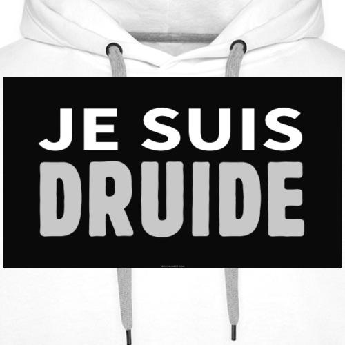 je suis druide - Sweat-shirt à capuche Premium pour hommes