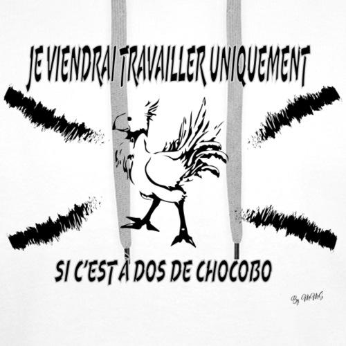 Chocobo 1 - Sweat-shirt à capuche Premium pour hommes