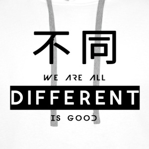 Different is good - Men's Premium Hoodie