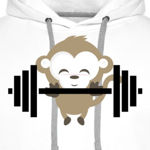 Fitness Monkey - Premium hettegenser for menn