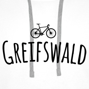 Bicycle Greifswald - Men's Premium Hoodie