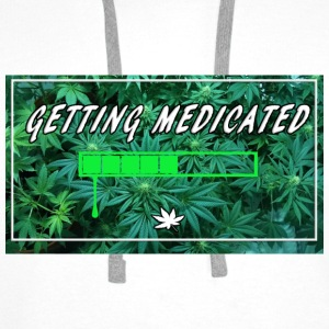 Getting Medicated - Men's Premium Hoodie