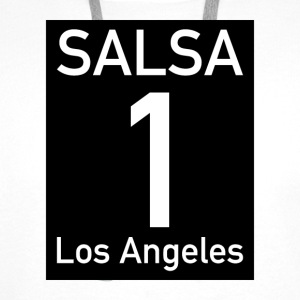 Salsa on1 Los Angeles - Mannen Premium hoodie
