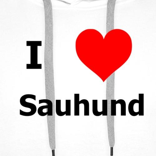 i Love Sauhund - Männer Premium Hoodie