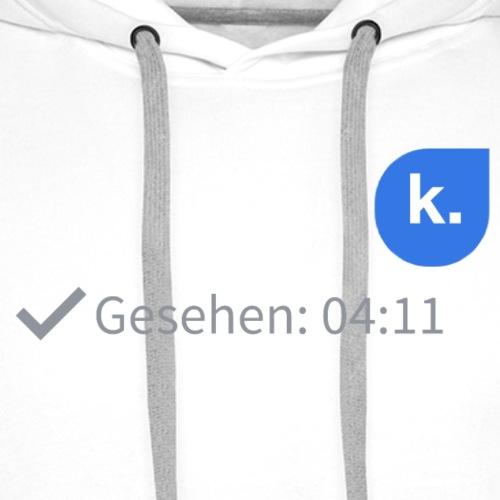 Gesehen - Männer Premium Hoodie