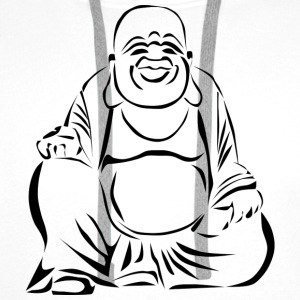 happy Buddha - Premium hettegenser for menn