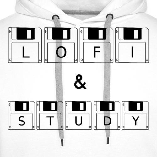 LoFi and Study - Men's Premium Hoodie