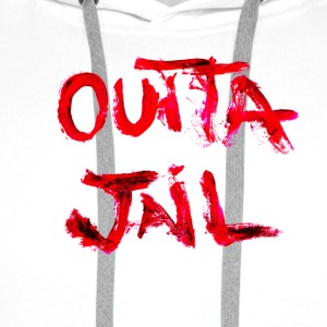 Outta Jail - Premium hettegenser for menn