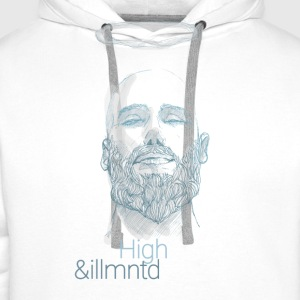 "Herbalist - ""High & Illuminated"" - Men's Premium Hoodie"