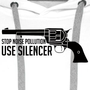Military / Soldiers: Stop Noise Pollution, Use - Men's Premium Hoodie