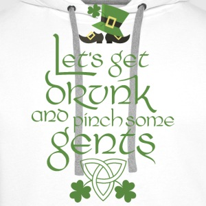 Stpatricks Lahe pincent gents - Sweat-shirt à capuche Premium pour hommes