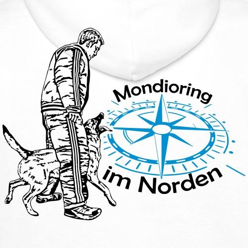 Mondioring im Norden / Motiv hinten / für hell - Männer Premium Hoodie