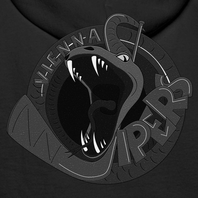 vipers logo big bw rippled png