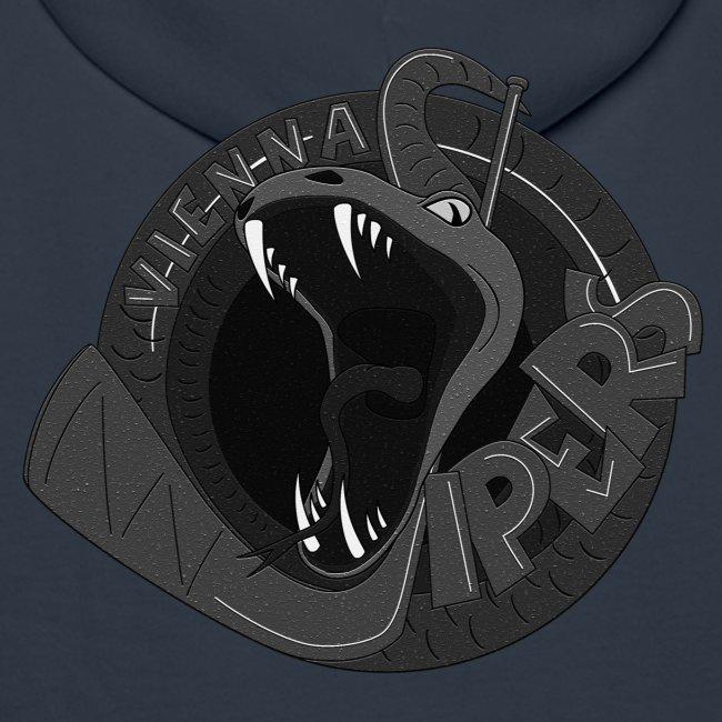 vipers logo big bw rippled png