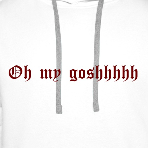 OMG - Sudadera con capucha premium para hombre