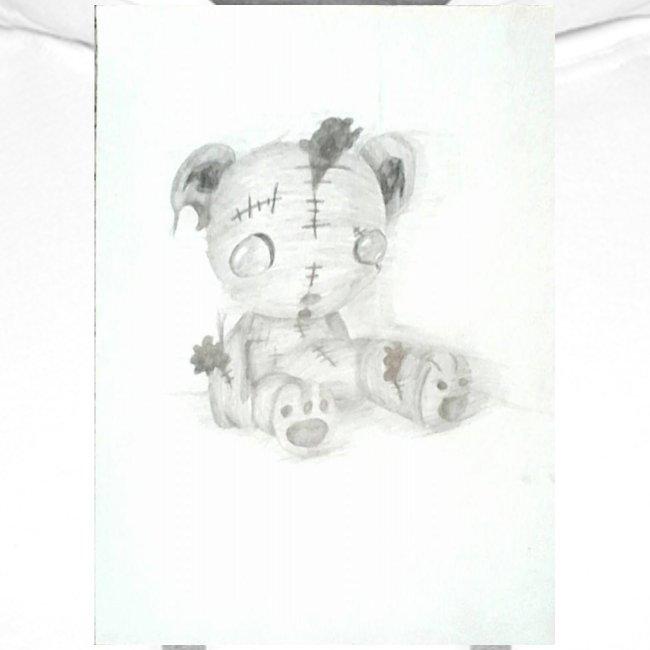 Broken teddybear