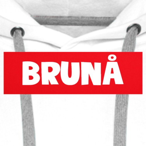 Brunå (NEW MØRCH) - Premium hettegenser for menn