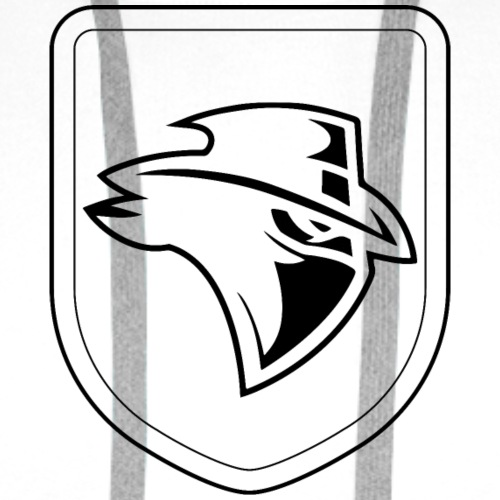 Shield Bandit - black - Men's Premium Hoodie