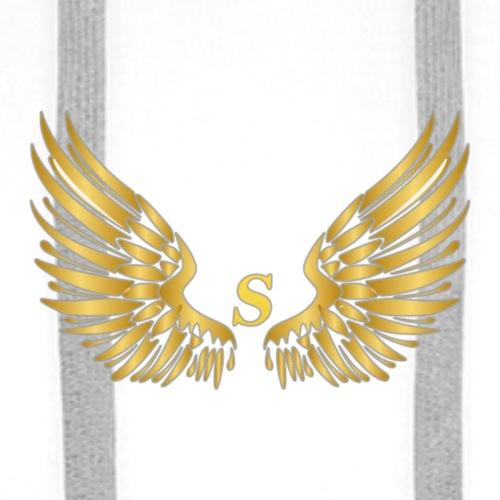 S GOLD W - Mannen Premium hoodie
