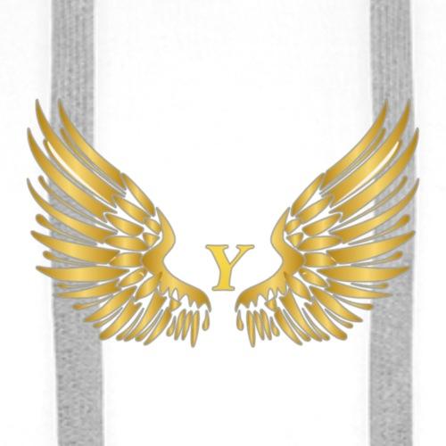 Y GOLD W - Mannen Premium hoodie