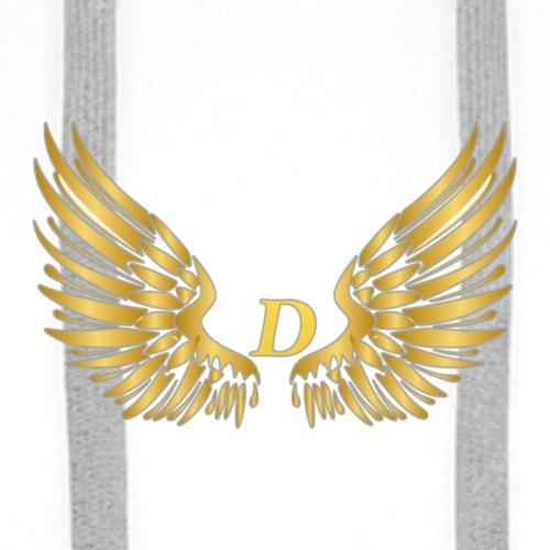 D GOLD W - Mannen Premium hoodie