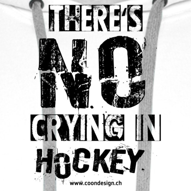 There's no crying in Hockey